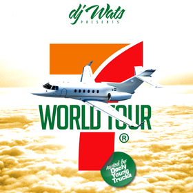 World Tour 7 DJ Wats front cover