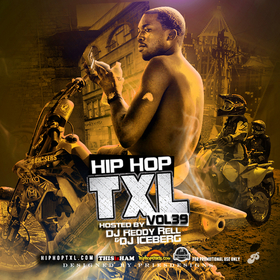 Hip Hop TXL Vol 39 DJ Reddy Rell front cover