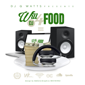 Will Dj 4 Food Dj Q Watts 901 front cover
