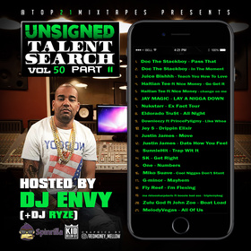 UTS: vol 50 (Hosted by DJ ENVY) pt.11 + presented by Top21Mixtapes Top 21 Mixtapes front cover