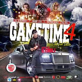 Game Time 4 (Hosted By L.L. Cool J) DJ Profluent front cover