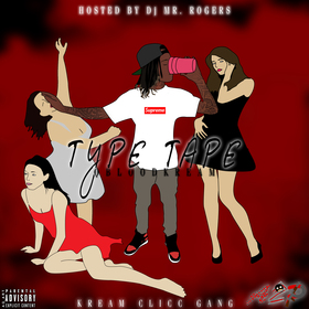 Type Tape Q Blood Kream front cover