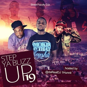 Step Ya Buzz Up 19 DJ 1Hunnit front cover