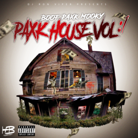PAXK HOUSE VOL: 1 BooF Paxk Mooky front cover