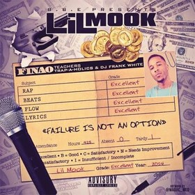 Failure Is Not An Option Lil Mook front cover