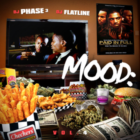Mood: Vol. 4 (Paid In Full) DJ Phase 3 front cover