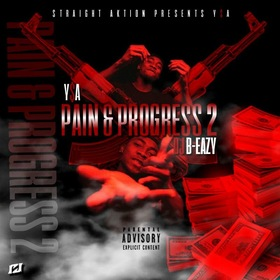 YSA- Pain And Progress 2 DJ B Eazy front cover