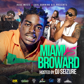 Miami vs Broward Hosted by DJ Seizure DJ Seizure front cover