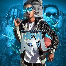 New ATL 7 (Hosted By Rich The Kid) DJ Cortez front cover