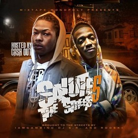Salute The Streets 5 (Hosted By Ca$h Out) DJ S.R. front cover