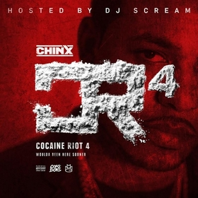 Cocaine Riot 4 Chinx front cover
