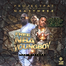 Free NBA Youngboy Project Pat front cover