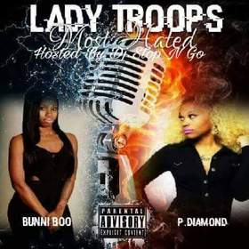 Most Hated Lady Troops front cover