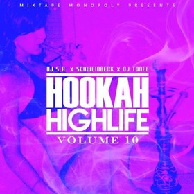 Hookah Highlife 10 DJ S.R. front cover