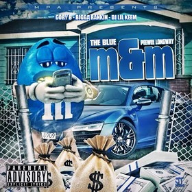 The Blue M&M PeeWee Longway front cover