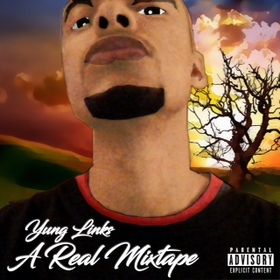 Yung Links - A Real Mixtape DJ Bankroll front cover