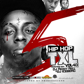 Hip Hop TXL Vol 40 DJ Reddy Rell front cover