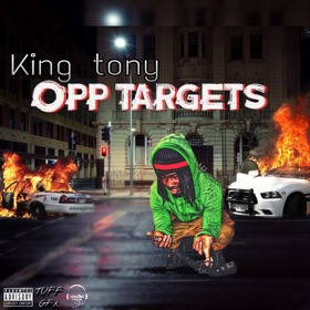 King Tony : Opp Targets Aristotle front cover