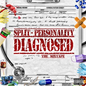 Diagnosed Split-Personality front cover