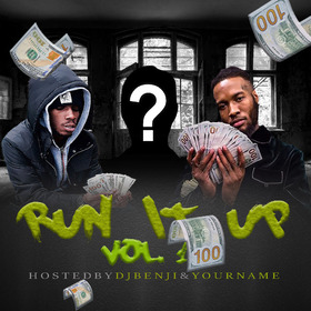 Run It Up Vol. 1 DJ Benji front cover
