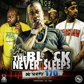 The Block Never Sleeps 170 DJ DES front cover