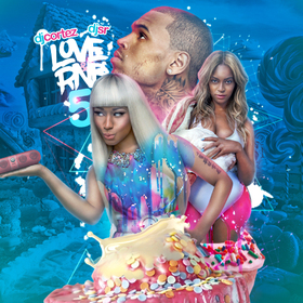 Love & RnB 5 DJ S.R. front cover