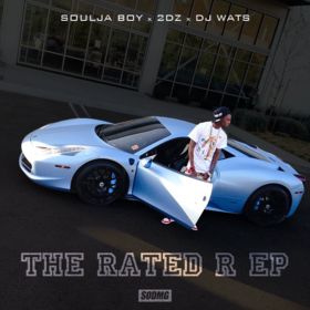The Rated R EP Soulja Boy front cover