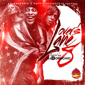 Lovers Lane 8 DJ Boss Chic front cover