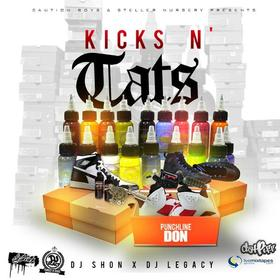 Kicks N' tats Punchline Don front cover