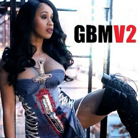 Gangsta Bitch Music Vol. 2 (GBMV2) Cardi B front cover
