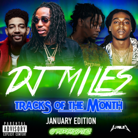 Tracks of the Month (January Edition) (2017) DJ Miles front cover