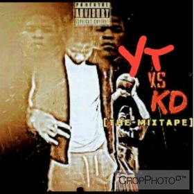 YT vs KD The Mixtape Young Terry front cover