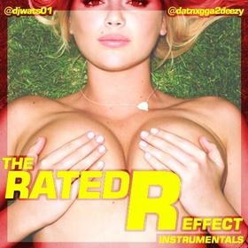 The Rated R Effect (Instrumentals) 2 Deezy front cover