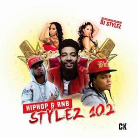 Hiphop & Rnb Stylez Vol 102 DJ Stylez front cover