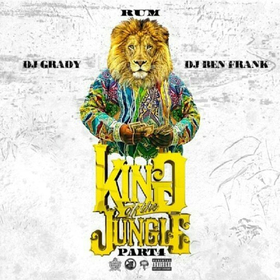 King of The Jungle 4 Rum front cover