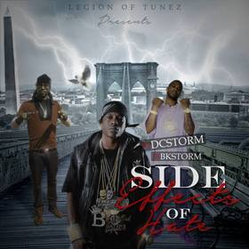 Side Effects Of Hate DJ BkStorm front cover