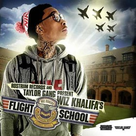 Flight School Wiz Khalifa front cover