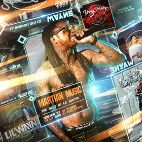 Martian Music: Best of Lil Wayne DJ Period front cover