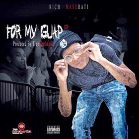 """Rich Maserati """"For My Guap EP"""" GoodVibes front cover"""