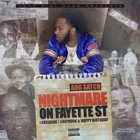 Nightmare On Fayette St ADG Satch front cover