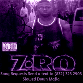 Z-Ro - Look What You Did To Me Screwed Slowed Down Mafia DJ DoeMan front cover