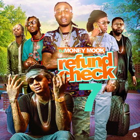 Refund Check 7 DJ Money Mook front cover
