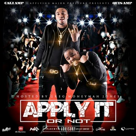 Apply It Or Not Quis AMP & Cali AMP front cover
