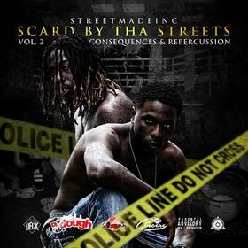 Scard By Tha Streets Vol.2 Hosted By Dj So Cincere & Dj J Dough Dj So Cincere front cover