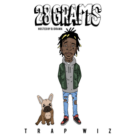 28 Grams Wiz Khalifa front cover