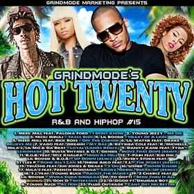 Hot Twenty #15 Grind Mode DJs front cover