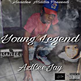 Young Legend Azl Ceejay  front cover