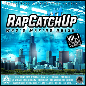 RapCatchUp: Who's Making Noise?! [Vol. 1] DJ Young JD front cover