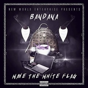 Wave The White Flag Bandana front cover