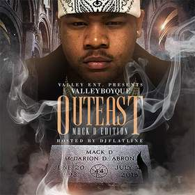 Out East (Mack D Edition) ValleyBoyQue front cover